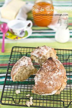 Irish soda bread - Pan de Soda Irlandés