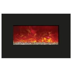 """Amantii 26"""" Enhanced Series Wall/Built In Fireplace"""