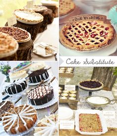 Ditch the cake! I want pie, ice cream, cookies and espresso martini's!