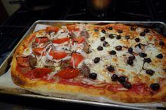 GF Pizza  Mmmm! #Bake #Pizza #Cheese #GF