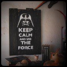 Star wars frase en madera. por GalloPardo en Etsy