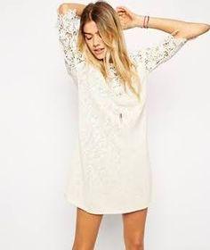 ASOS Crochet Tunic Dress