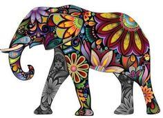 elephant artwork - Buscar con Google