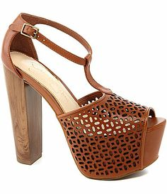Jessica Simpson Dany5 Perforated Sandals #Dillards