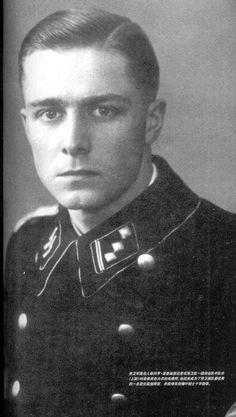 ✠ Joachim Peiper (30 January 1915 – 14 July 1976) murdered in France.