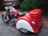 Motorcycle Trike Conversion Kit with Trike Body (Shaft Drive/Metric) Trike Kits, Touring, Motorcycle, Bike, Bicycle, Motorcycles, Bicycles, Motorbikes, Choppers