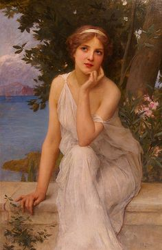 REFLECTIVE THOUGHTS- Charles Amable Lenoir (french, 1870-1926) | Flickr - Photo Sharing!