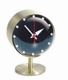 Night Desk Clock . 1984 . George Nelson