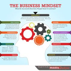 What do successful business people have in common? #infographic