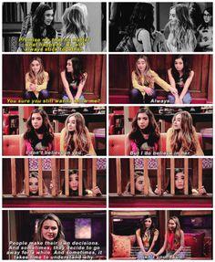 "#GirlMeetsWorld 3x01 ""Girl Meets High School: Part One"" - Riley and Maya"