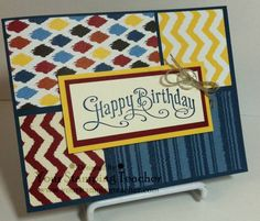 Parker's Pattern by cpyrch - Cards and Paper Crafts at Splitcoaststampers