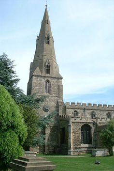 St Andrew's church, Kimbolton, photo by Dave Kelly Our home town
