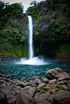 La Fortuna Waterfall in Costa Rica.