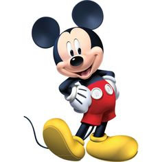 MICKEY MOUSE - Disney - Instant Download - Digital Printable Design - Mickey Mouse Printable