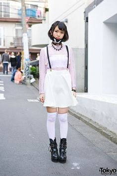 Spinns & WEGO Harajuku pastel goth Outfit
