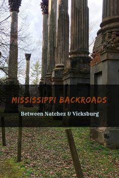 Drive the Mississippi backroads between Natchez and Vicksburg to discover ancient ruins, explore a ghost town, and eat the world's best fried chicken. Clarksdale Mississippi, Natchez Mississippi, Mississippi Tourism, Mississippi Facts, Mississippi Delta, Places To Travel, Places To See, Travel Destinations, Natchez Trace