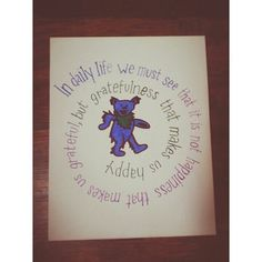Grateful Dead Canvas by BootsBlushBlueEyes on Etsy, $16.00