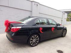 red Wedding Cars Decor