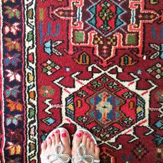 persian rug. colorful living. heritage