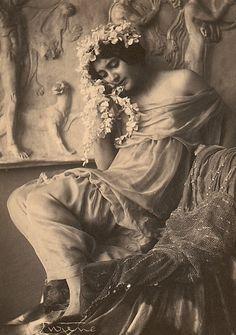 Frank Eugene - Fritzi von Derra, The Greek Dancer, c.1900s