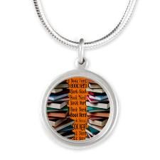 book nerd ff 2 Silver Round Necklace Book Lovers Gifts, Gift For Lover, Silver Rounds, Book Nerd, Pendant Necklace, Personalized Items, Jewelry, Jewlery, Jewerly