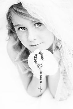 Skylas First Holy Communion Color or BW Flickr - Photo Sharing
