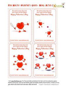 Healthy Heart Fun - Valentine's Day Card