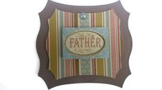 Father dad father's day Scrapbook Embellishment by itsmemanon, $2.00