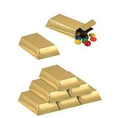 12 x traktatiedoosje goudstaaf