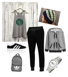 """""""Seahawks for Life"""" by a-gauche ❤ liked on Polyvore featuring adidas"""