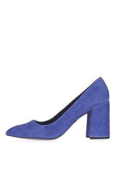 topshop gram flared heel shoes