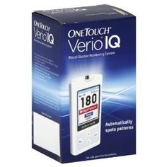 OneTouch Verio IQ Blood Glucose Monitoring System 1 monitor OneTouch,http://www.amazon.com/dp/B006UK9EII/ref=cm_sw_r_pi_dp_l7WDsb0HBWV2AYN3