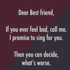 friendship quotes funny ~ friendship quotes & friendship quotes funny & friendship quotes meaningful & friendship quotes in hindi & friendship quotes inspirational & friendship quotes support & friendship quotes for boys & friendship quotes distance Besties Quotes, Girl Quotes, Funny Bestfriend Quotes, Best Friend Quotes Funny Hilarious, Funny Sayings, Crazy Funny, True Friends Quotes Funny, Cute Bff Quotes, Tomboy Quotes