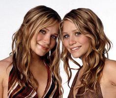 Love their strawberry blonde waves, their were prettier back then