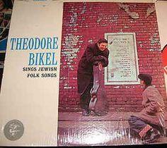 Theodore Bikel - Sings Jewish Folk Songs: buy LP, Album at Discogs