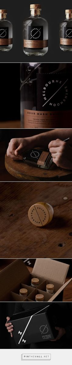 Melbourne Moonshine via Lovely Package designed by Sense curated by Packaging…