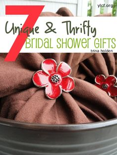 7 Unique & Thrifty Bridal Shower Gifts