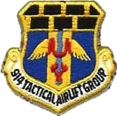                                                                      Legacy 914TH TACTICAL AIRLIFT GROUP (914 TAG) Emblem [1967] - USAF Patch / wiki _____________________________ Reposted by Dr. Veronica Lee, DNP (Depew/Buffalo, NY, US)