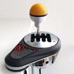 Yet another option from nolitto3d to shorten the gear shifting throw Custom made specifically for the TH8A - Weighted for the TH8A stock springs - M9 thread at a deeper section to shorten the gear stick/lever NOTE: Thrustmaster TH8A Shifter is not included - Only used in photos to show how the knob fits in the TH8A shifter Features: Easy installation - Just unscrew the stock TH8A knob and screw the new Short Throw Knob Shortens the gear stick/lever length and therefore increases the shift resist Knob, Black Silver, Easy, Photos, Products, Pictures, Door Knob, Gadget