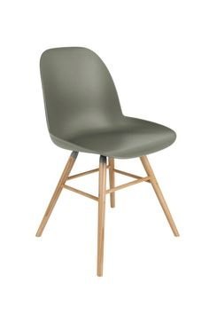 Zuiver Albert Kuip chair is a comfortable side chair available in trendy colours