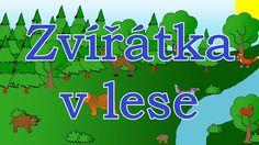 🐻🇨🇿Zvířátka v lese - animované zvuky zvířat pro děti a nejmenší - zvuky zvířat žijících v lese Holidays And Events, Classroom, Youtube, Logos, Music, Day Care, Class Room, Musica, Musik