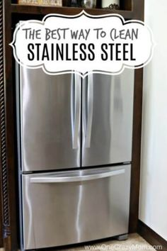Learn how to clean Stainless Steel. Cleaning stainless steel only takes one easy step. It takes hardly any work at all to keep that stainless looking like new. How to clean stainless steel appliances. Learn how to clean stainless steel refrigerator.