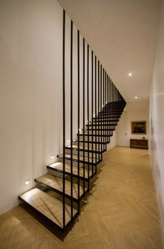 curved floating stair hotel - Google Search