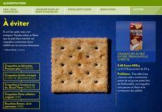 Cric, crac, craquelins - La Presse+ Fibres, Costco, Nutrition, White Bread, Salmon, Food, Meals