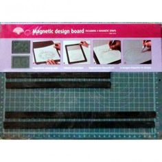 4 magnetic strips) - This Pergamano Magnetic Design Board means you will never have to worry about your parchment paper slipping ever again. Magnetic Strips, Parchment Paper, Magnets, Boards, Cover, Design, Planks, Vellum Paper