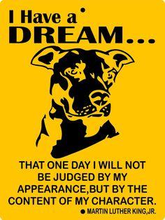 Pitbull Dog Sign 9x12 ALUMINUM ihad1 by animalzrule on Etsy