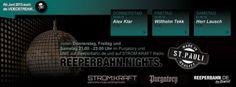 Thursday Friday Saturday 9.00pm – Reeperbahn Nights live @ Purgatory, Hamburg DE – LIVE STREAM