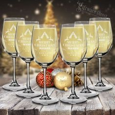 Stylish set of 12 laser engraved wine glasses. High quality crystaline construction. An elegant glass with a unique touch that is sure to turn heads. Be the highlight of the next dinner party or treat someone this christmas with a uniqe gift that is sure to be put to good use. AU$97.20 (incl. gst)