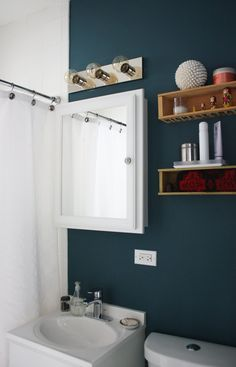 Great Wall color for a bathroom