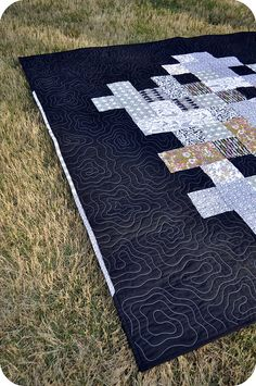 I like the quilting stitch on this quilt.